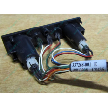 HP 224998-001 в Астрахани, кнопка включения питания HP 224998-001 с кабелем для сервера HP ML370 G4 (Астрахань)
